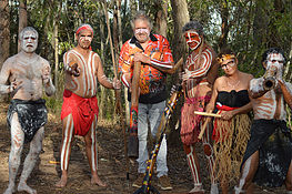 Didgeridoo Jam in the Park - Accommodation QLD