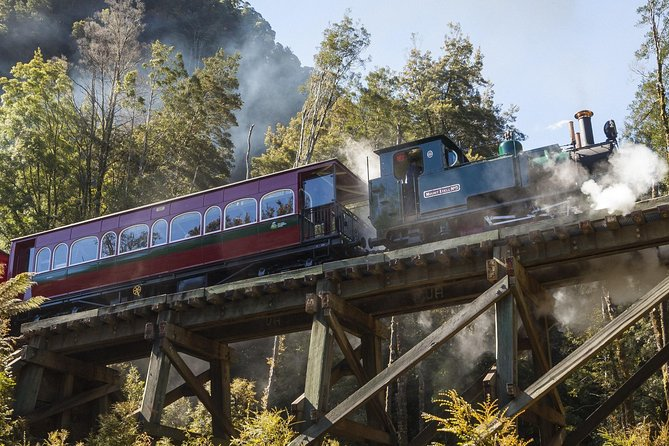 West Coast Wilderness Railway Queenstown Explorer from Strahan - Accommodation QLD