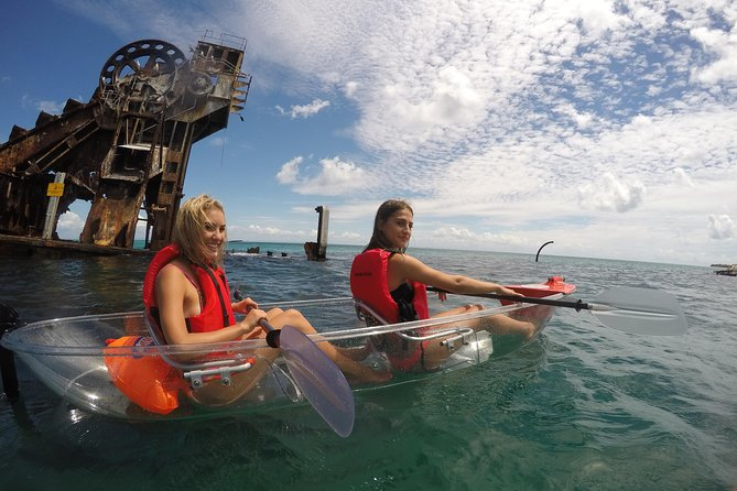 Moreton Island Day Trip from Brisbane or the Gold Coast Including Kayaking and Sandboarding