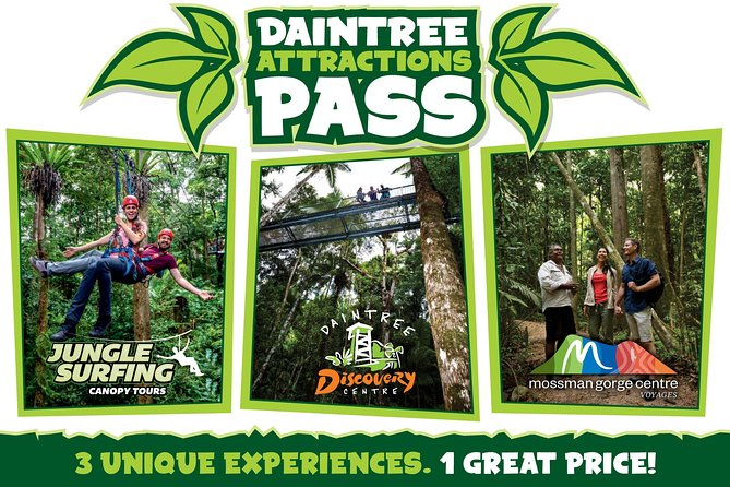 Daintree Atttractions Pass The Best of the Daintree in a Day