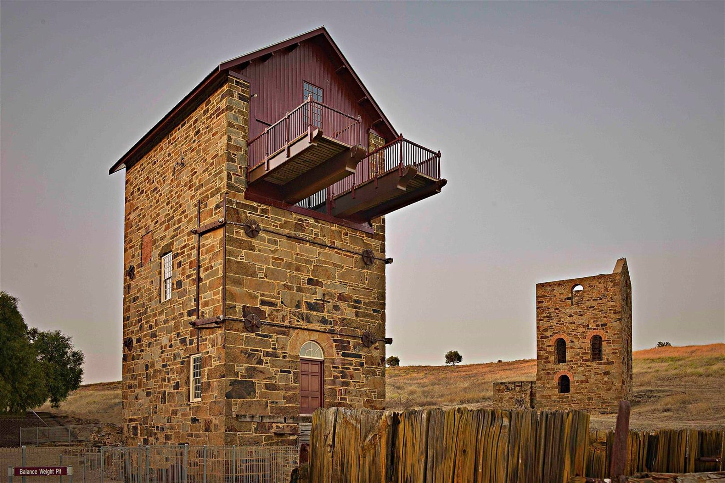 Burra Mine Site - Accommodation QLD