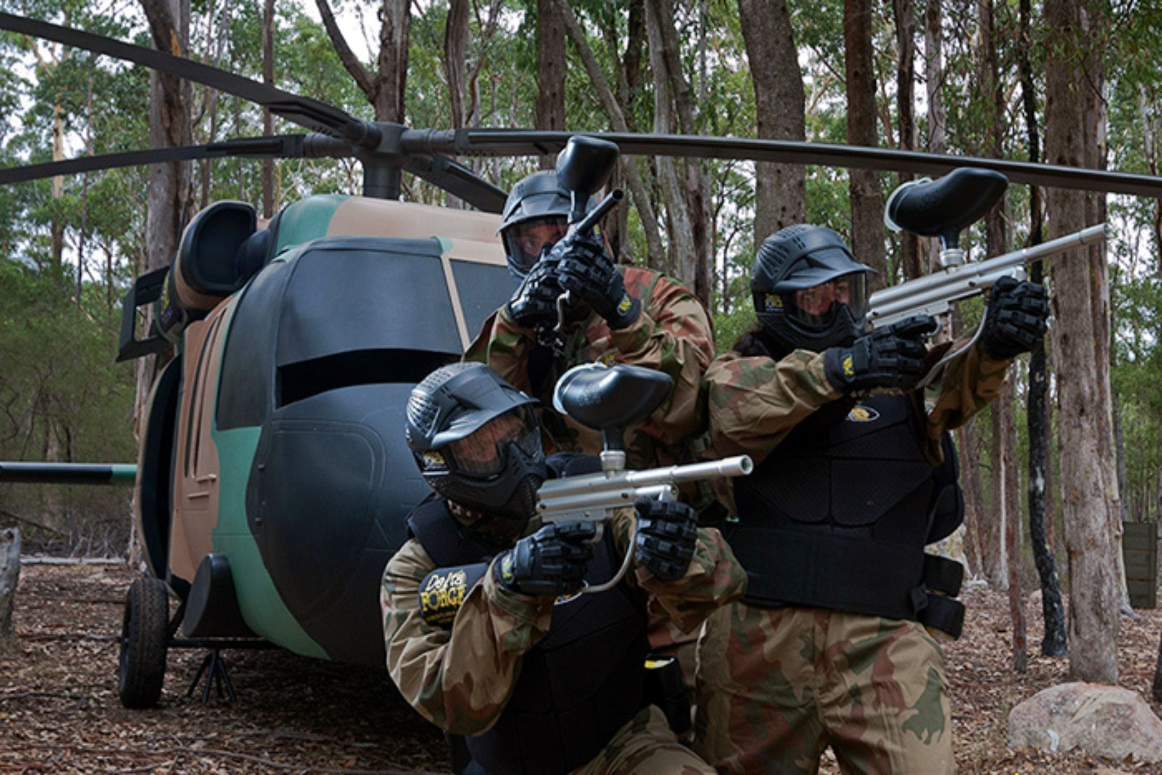 Delta Force Paintball Appin - Accommodation QLD