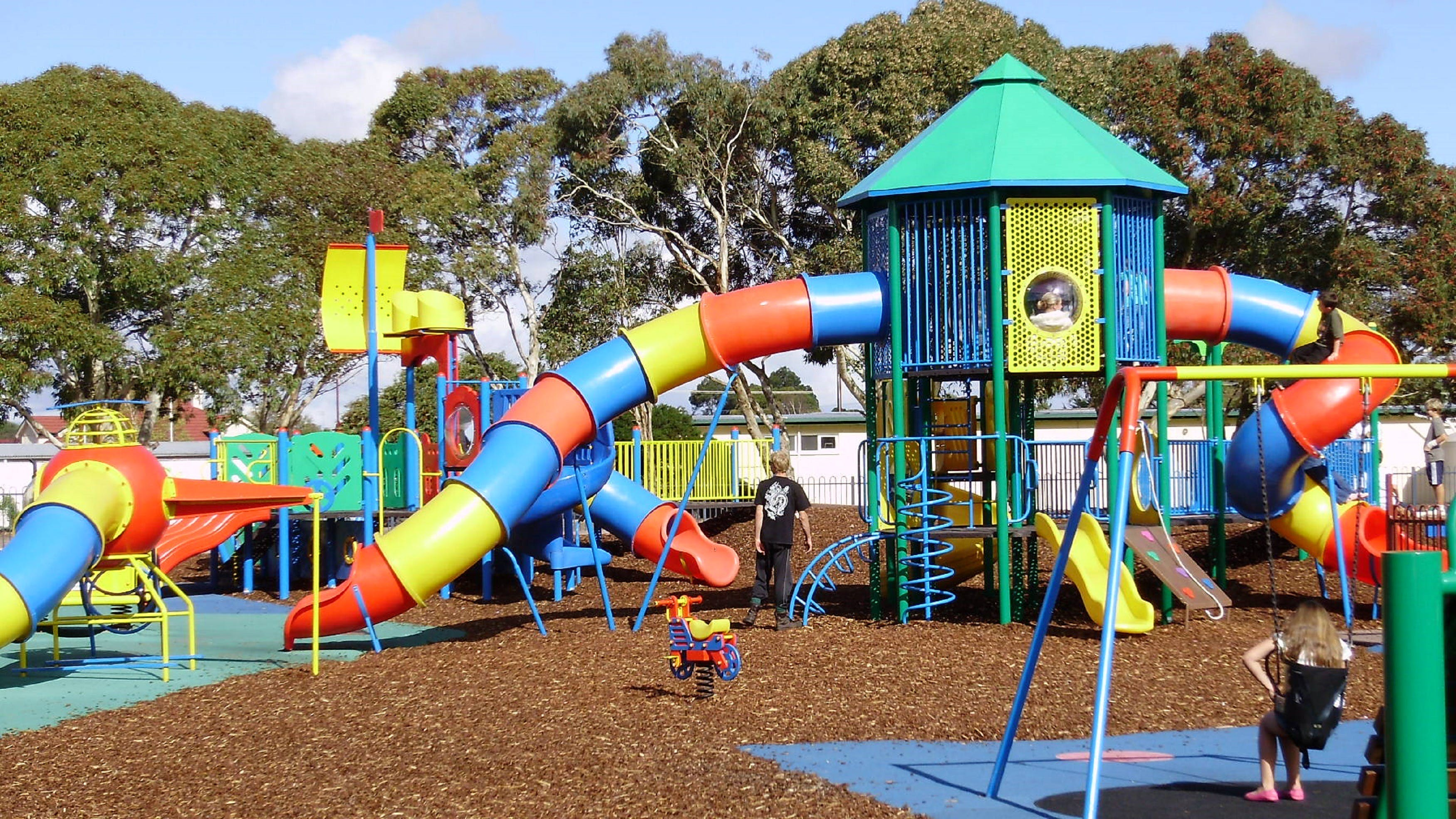 Millicent Mega Playground in The Domain - Accommodation QLD