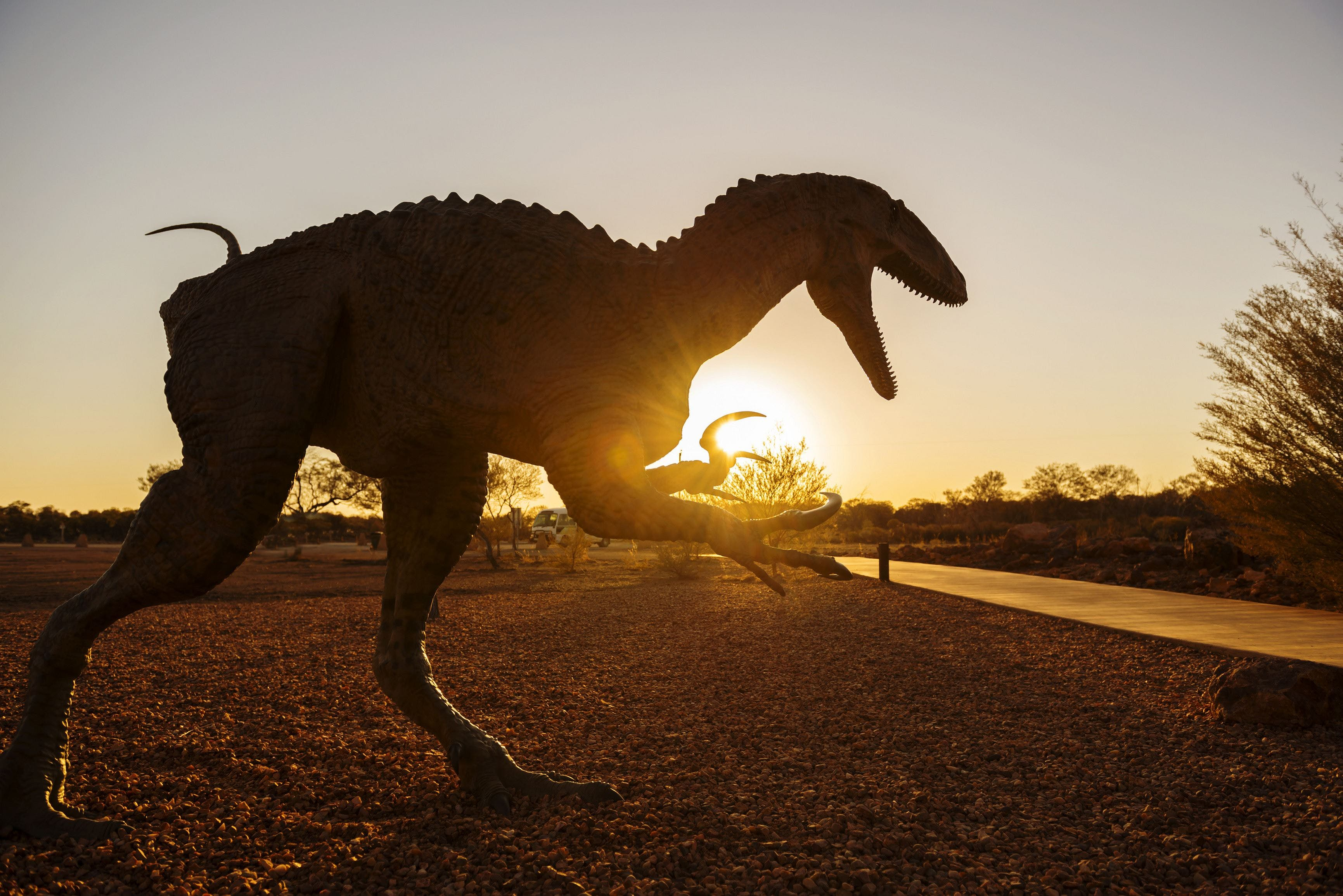 Australian Dinosaur Trail - Accommodation QLD