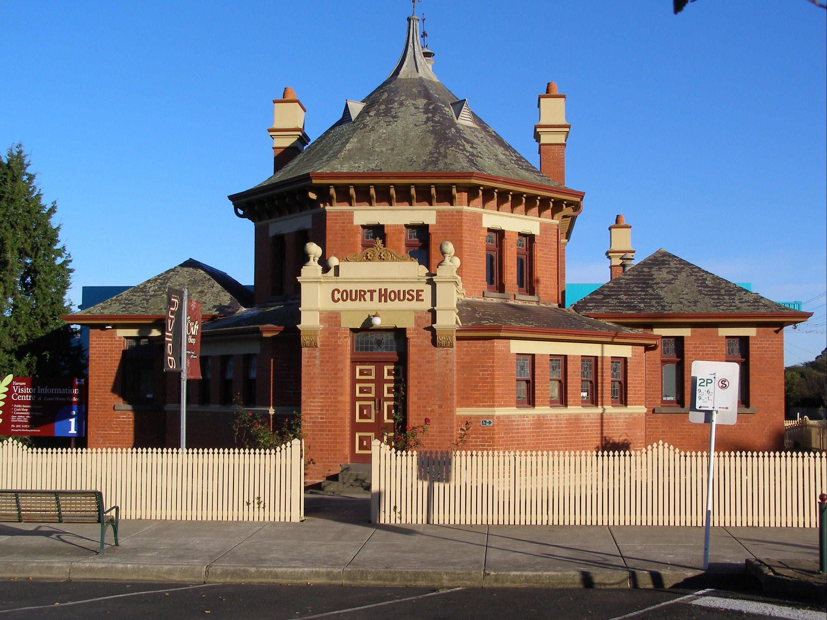 Yarram Courthouse Gallery - Accommodation QLD
