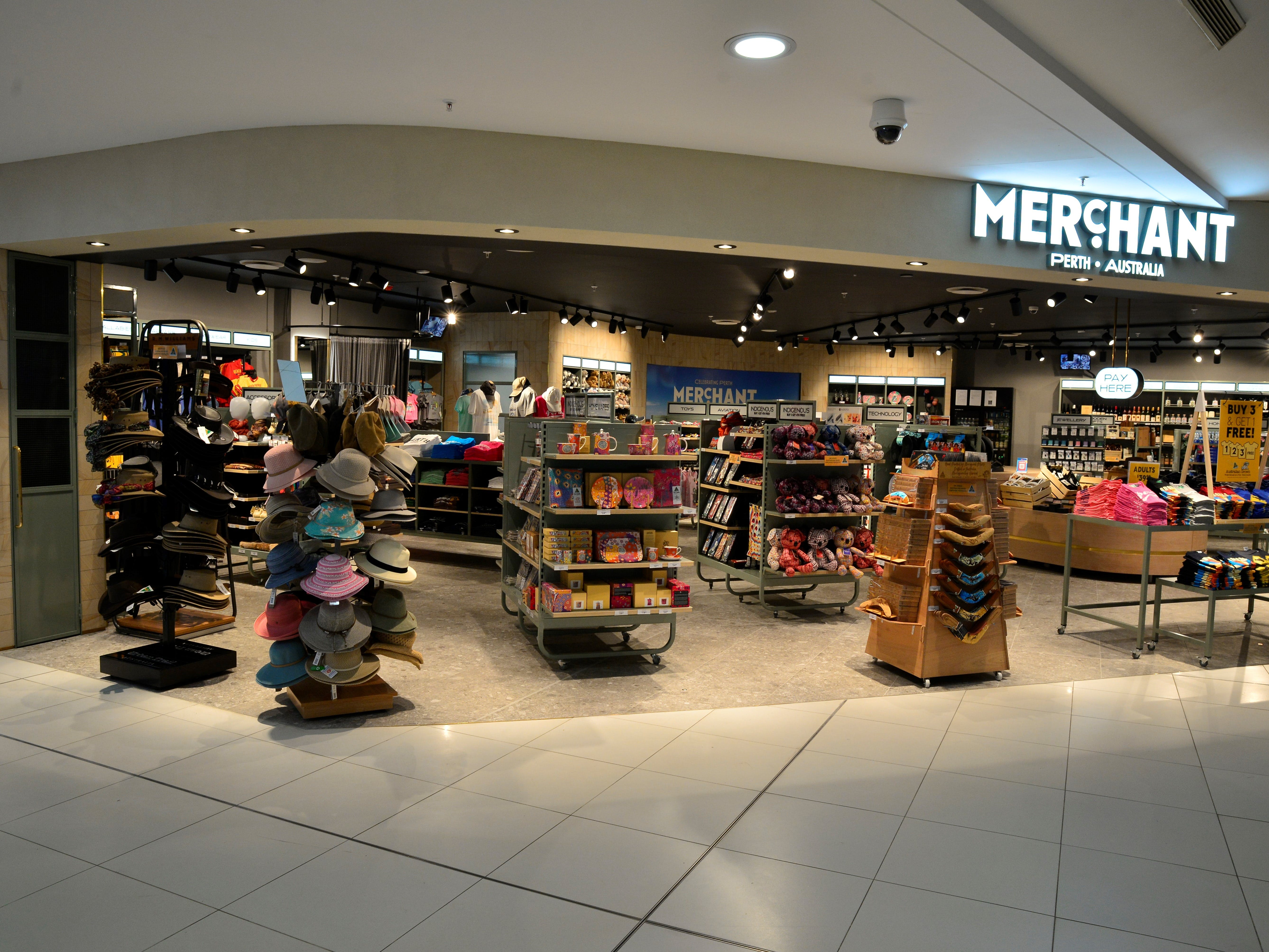Merchant - Perth Airport T4 Domestic - Accommodation QLD