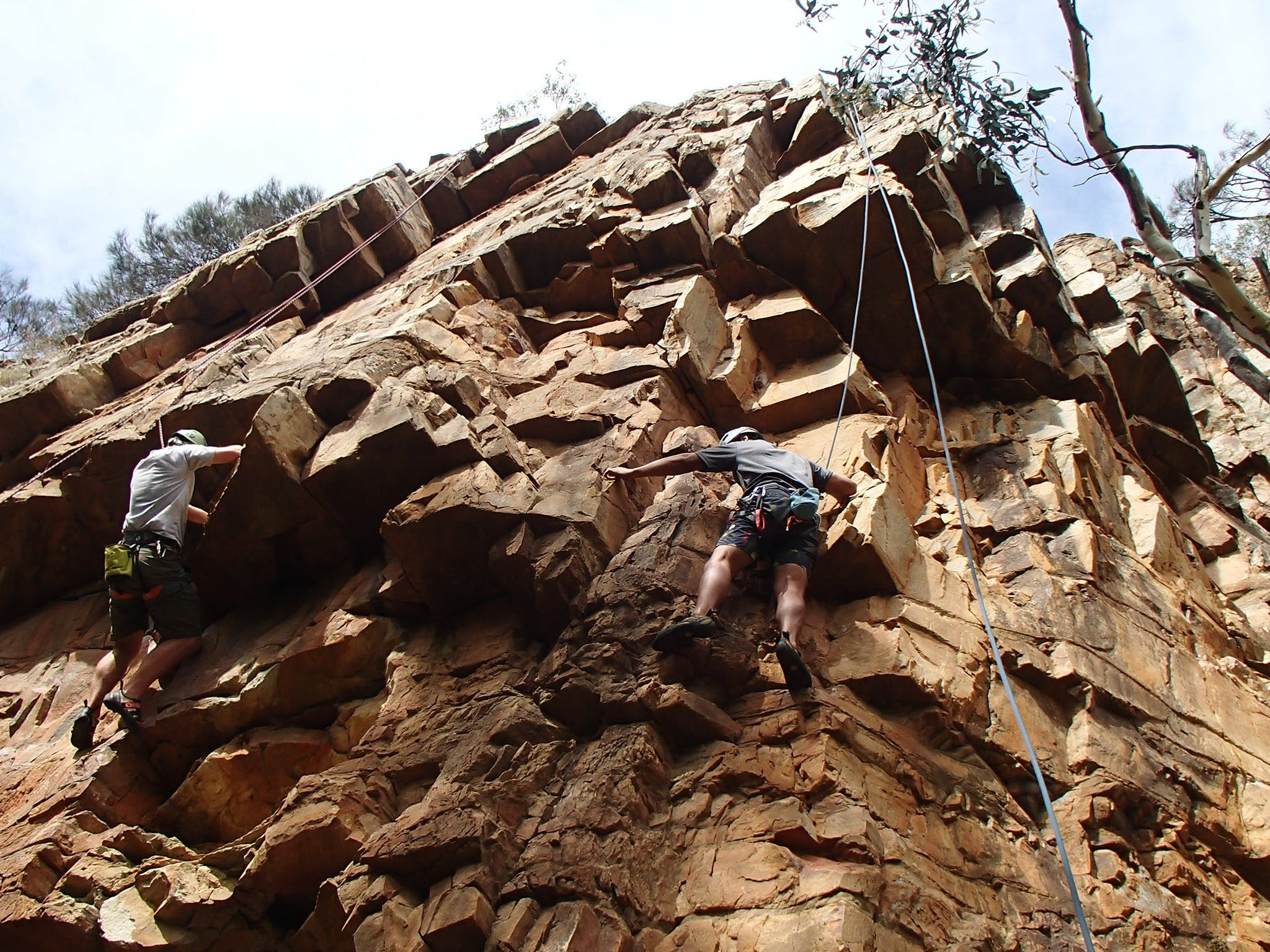Rock Climbing in Morialta - Accommodation QLD