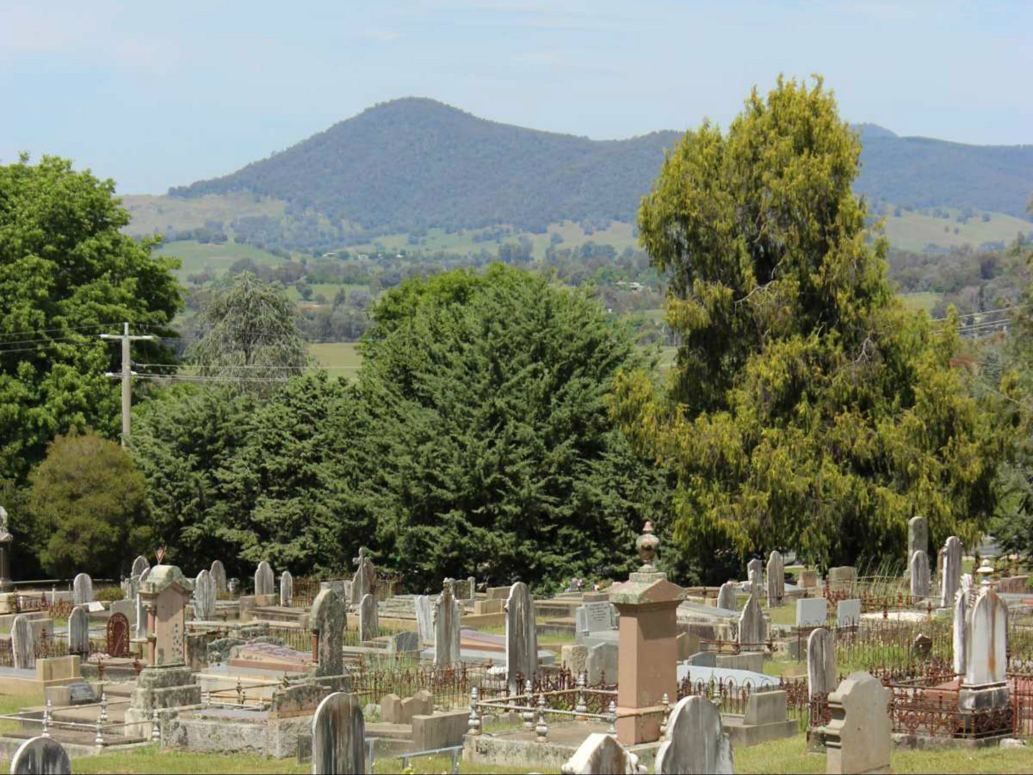 Yackandandah Cemetery - Accommodation QLD