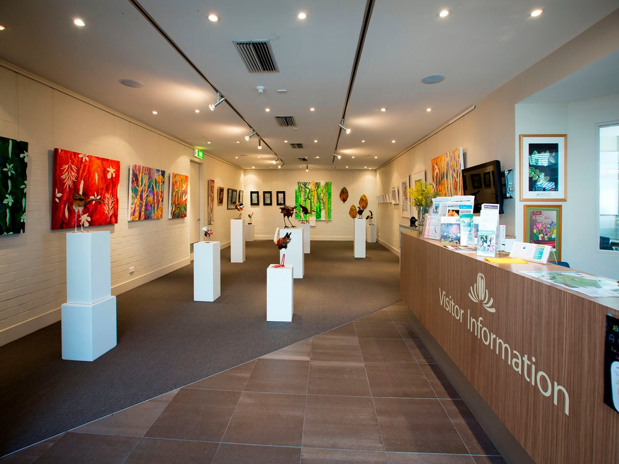 Australian National Botanic Gardens Visitor Centre Gallery - Accommodation QLD