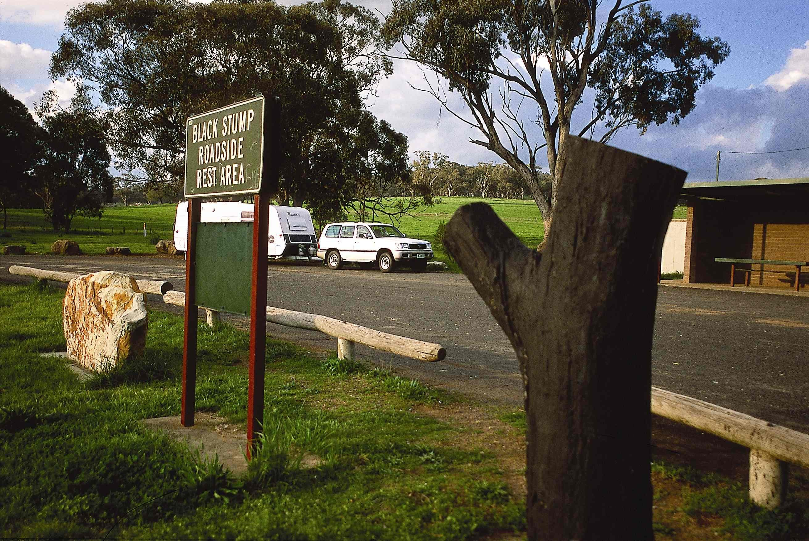 Black Stump Rest Area - Accommodation QLD