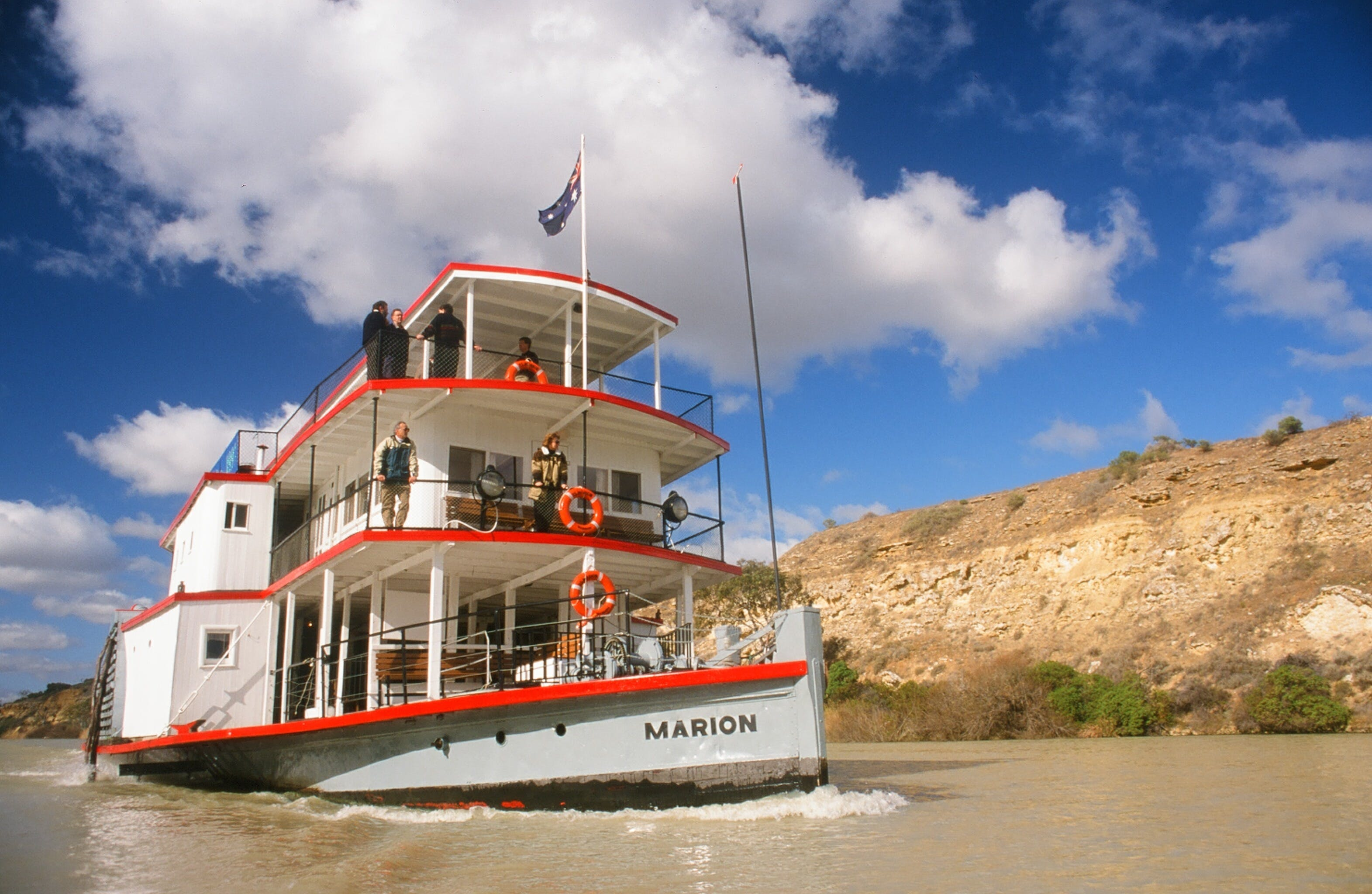 PS Marion Short Cruises - all cruises cancelled until further notice - Accommodation QLD