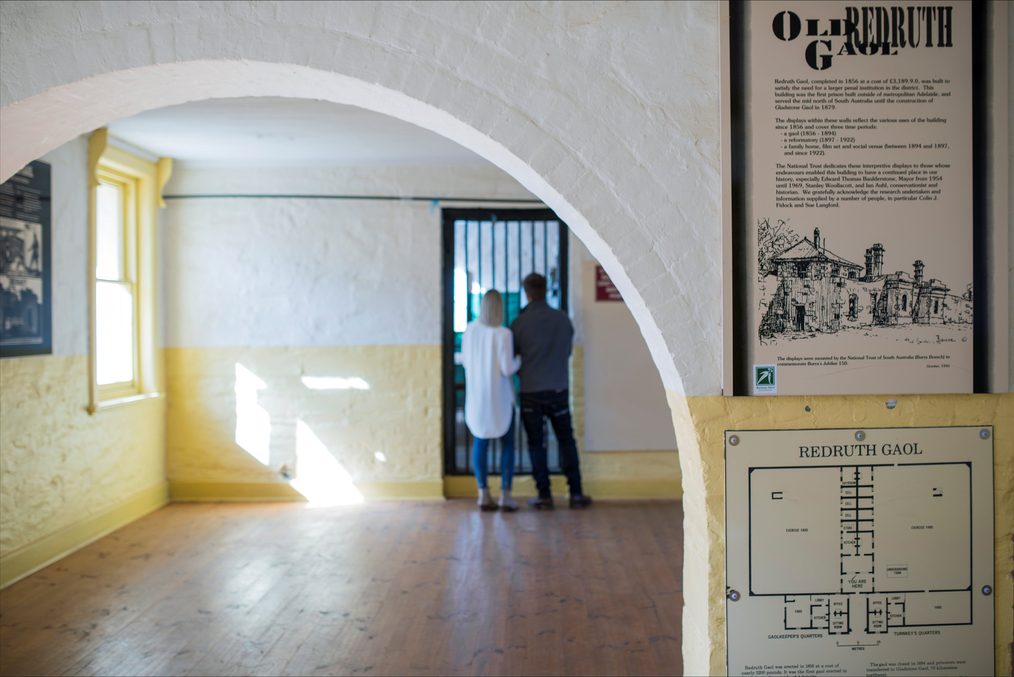 Redruth Gaol - Accommodation QLD