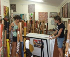 Top Didj and Art Gallery - Accommodation QLD