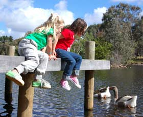 Vasse River and Rotary Park - Accommodation QLD