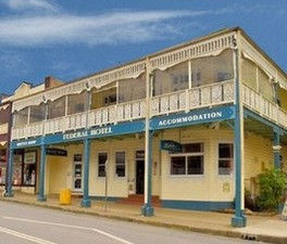 Federal Hotel Bellingen - Accommodation QLD