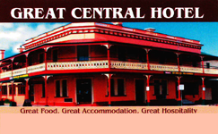 Great Central Hotel - Accommodation QLD