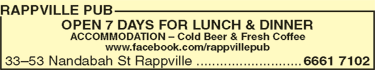 Rappville Pub - Accommodation QLD