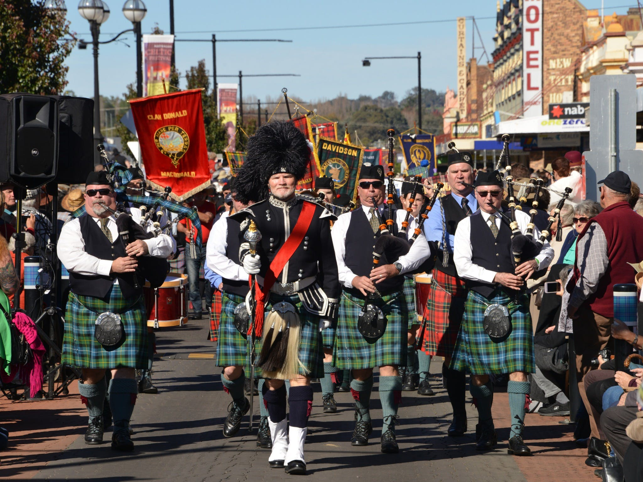 Australian Celtic Festival - Accommodation QLD