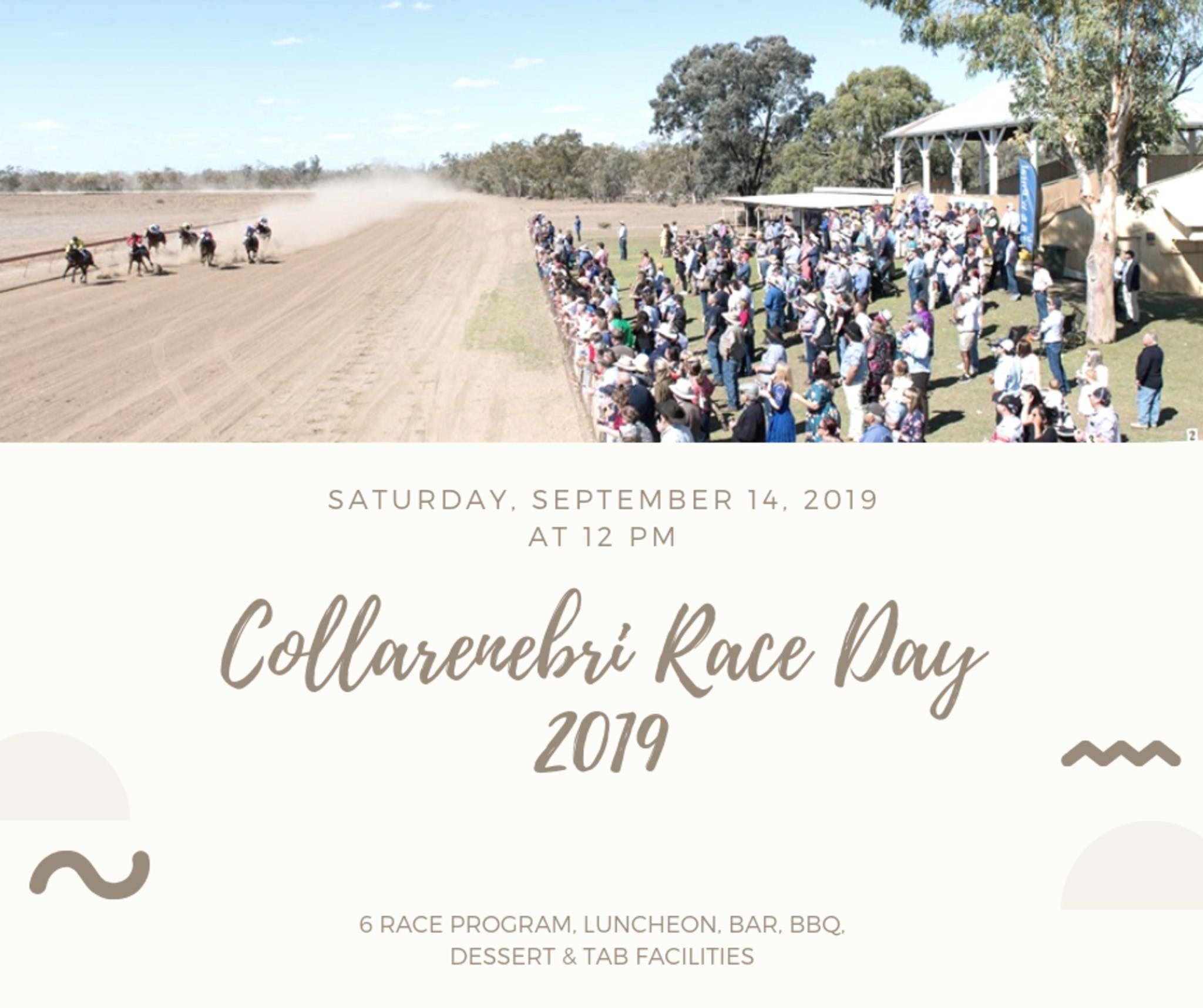 Collarenebri Races - Accommodation QLD