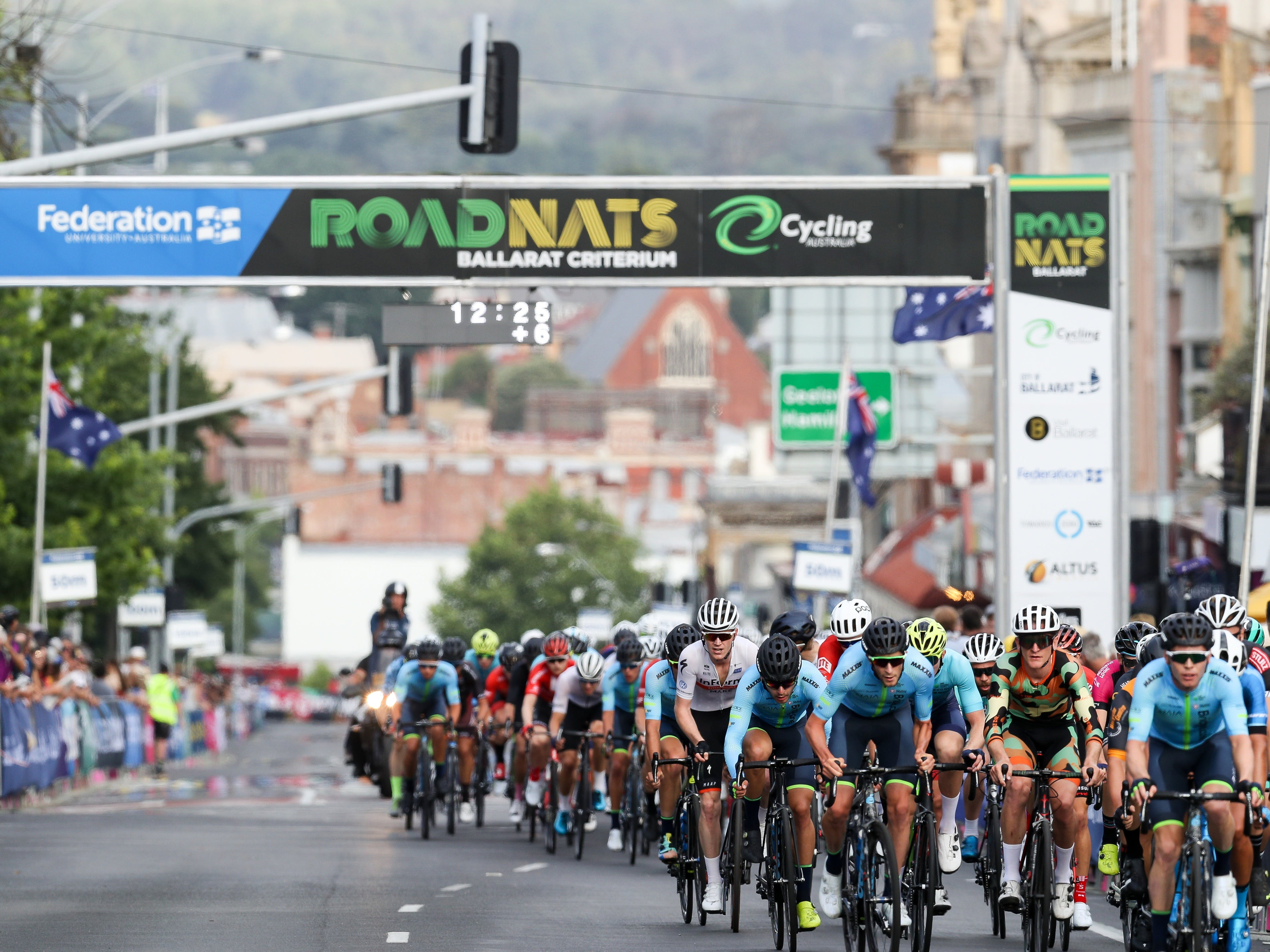 Federation University Criterium National Championships - Ballarat - Accommodation QLD