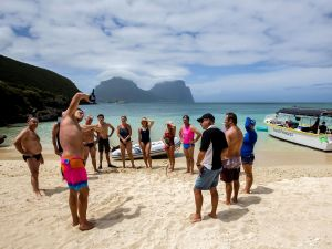 Ocean Swim Week with Trevor Hendy Pinetrees Lord Howe Island - Accommodation QLD
