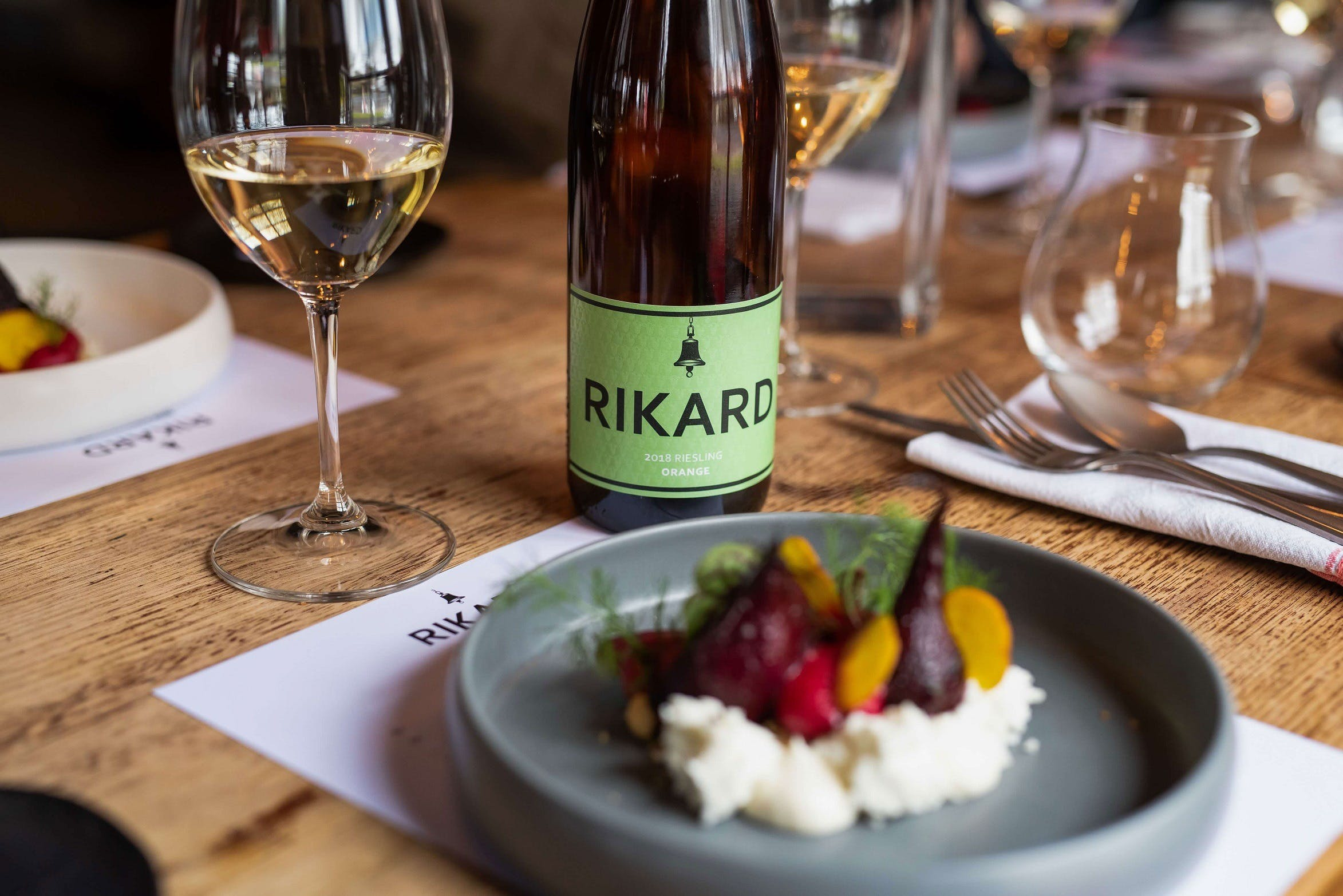 RIKARD Wines at Charred - Accommodation QLD