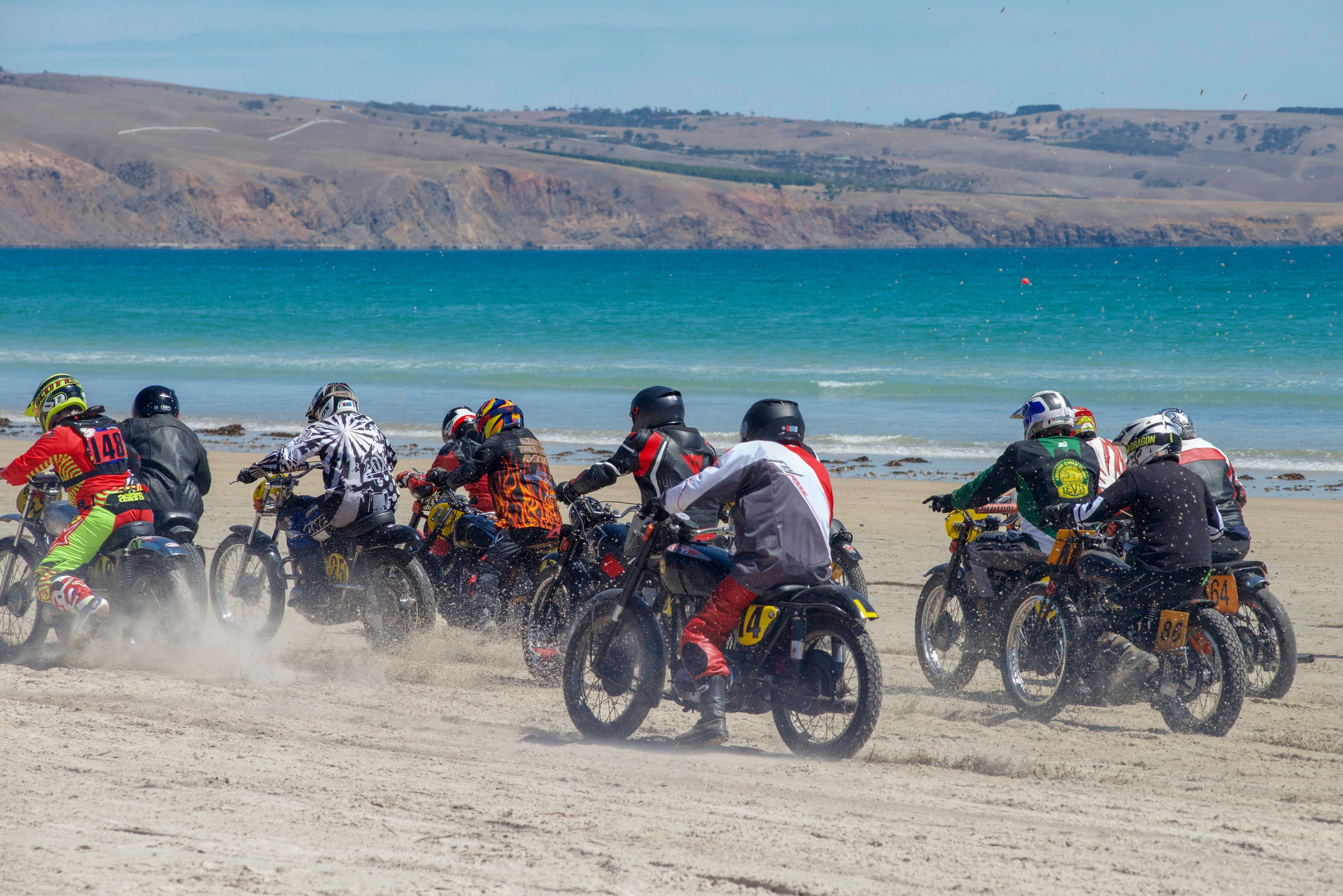 Sellicks Beach Historic Motorcycle Races - Accommodation QLD