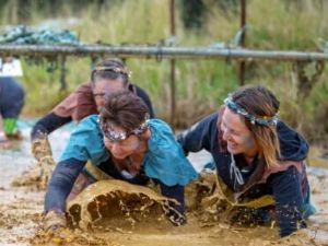 Suck It Up Buttercup Vikings Obstacle Course - Accommodation QLD