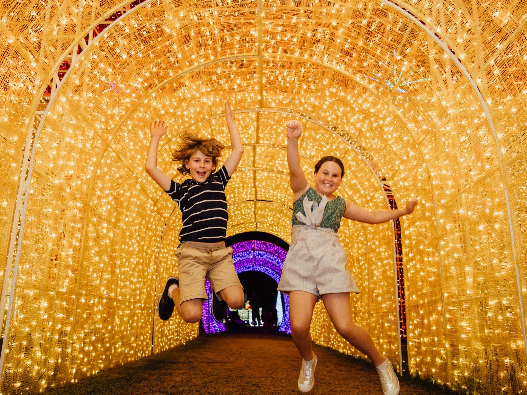 Christmas Lights Spectacular New Year's Eve at Hunter Valley Gardens - Accommodation QLD