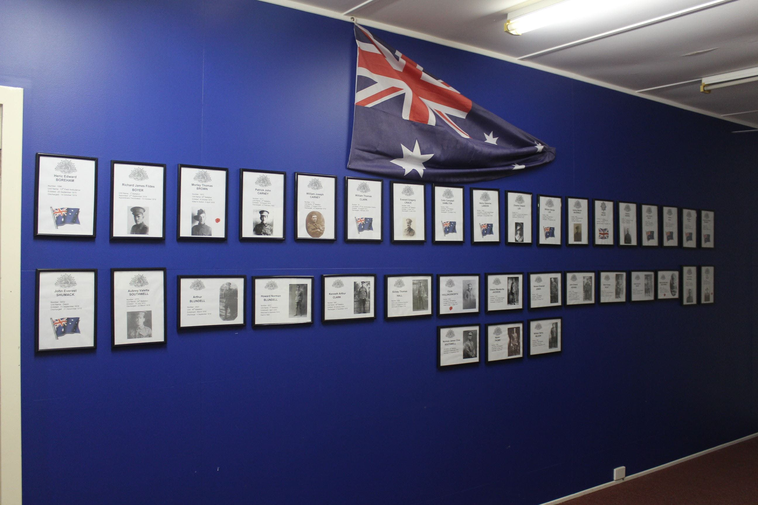 Hall WW1 Commemorative Exhibition - Accommodation QLD