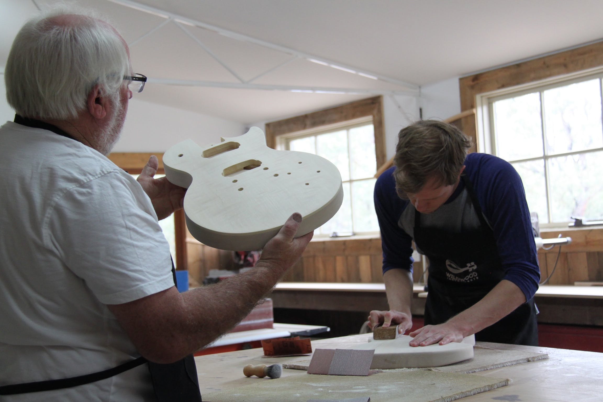 Electric Guitar Making Courses - Accommodation QLD