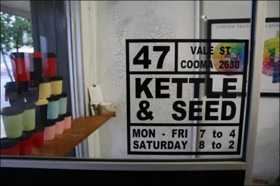 Kettle  Seed Cafe and Coffee Roaster - Accommodation QLD