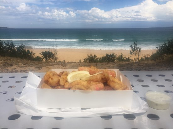 Eden Fish  Chips - Accommodation QLD