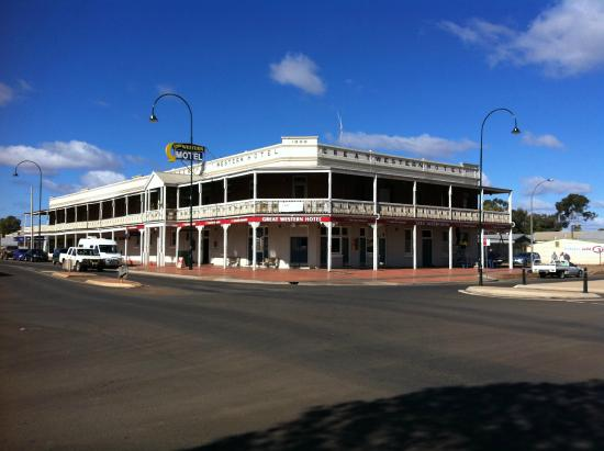 Great Western Cobar Hotel-Motel - Accommodation QLD