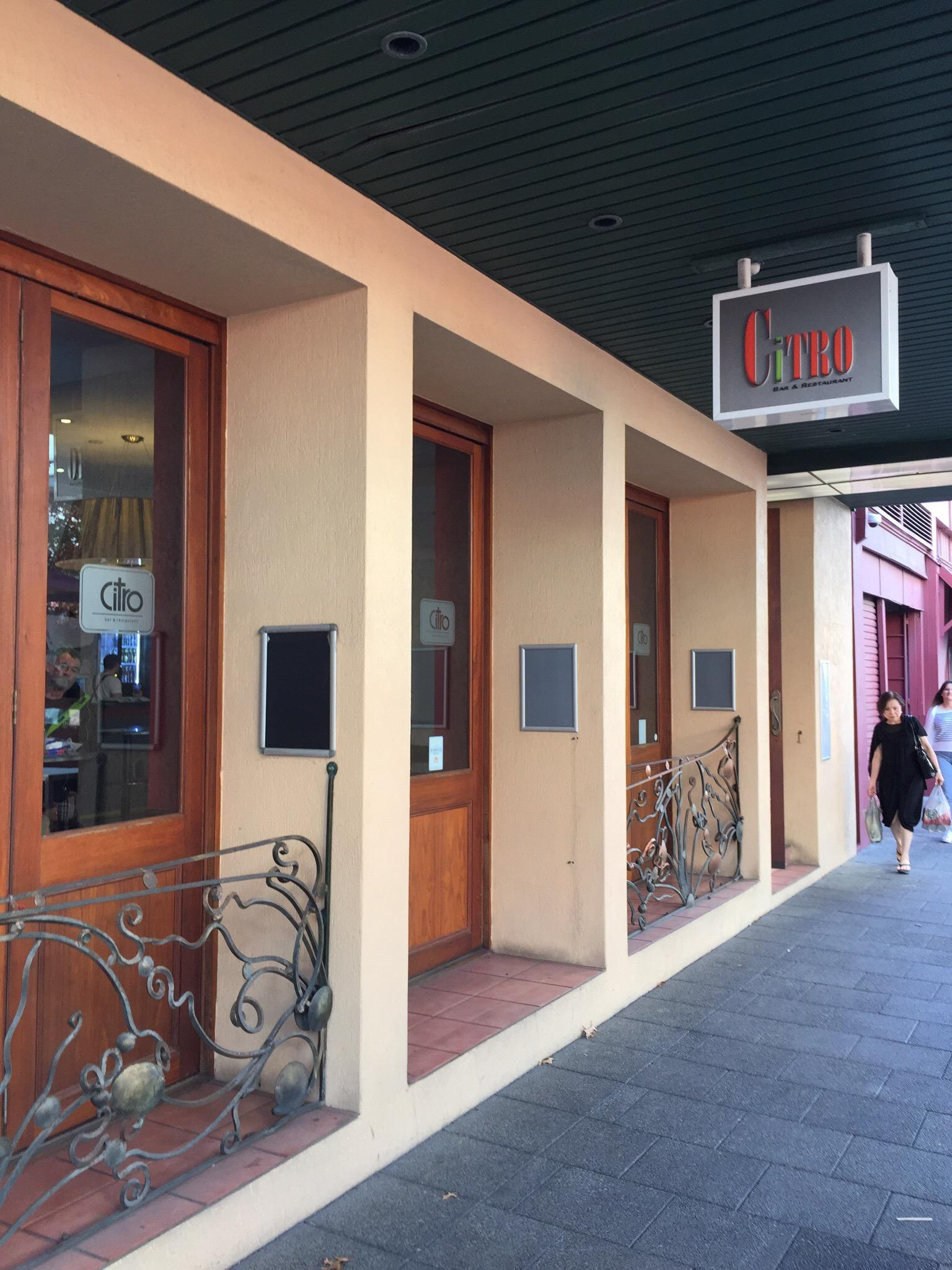 Citro Bar And Restaurant - Accommodation QLD
