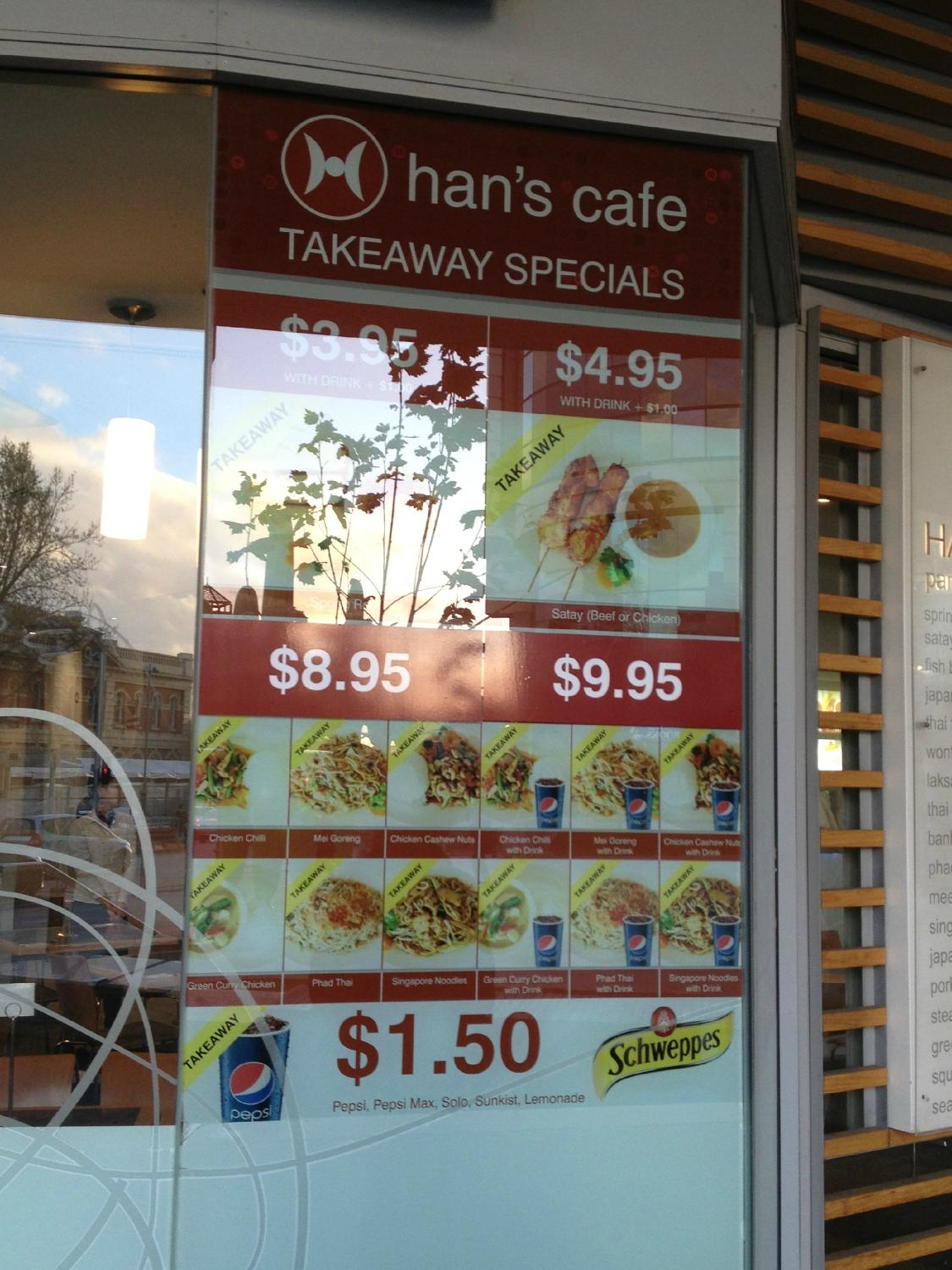 Han's Cafe - Perth CBD - Accommodation QLD