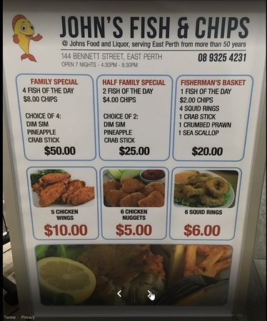 John's Fish And Chips Perth - Accommodation QLD