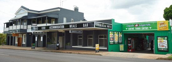 Commercial Hotel Day Dawn Restaurant - Accommodation QLD