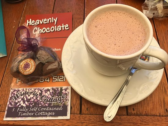 Stanthorpe's Heavenly Chocolate at Wisteria Cottage - Accommodation QLD