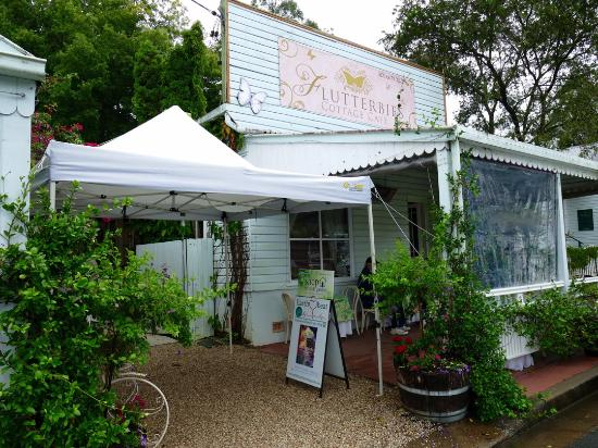 Flutterbies Cottage Cafe - Accommodation QLD
