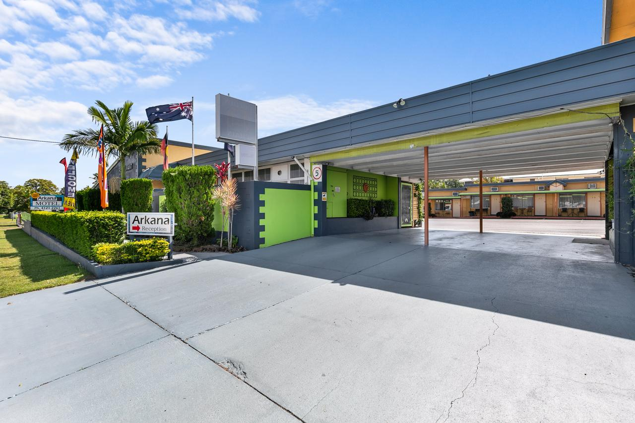 Arkana Motel - Accommodation QLD