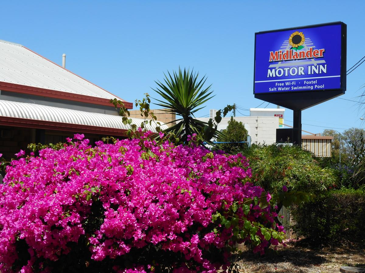 Midlander Motor Inn - Accommodation QLD