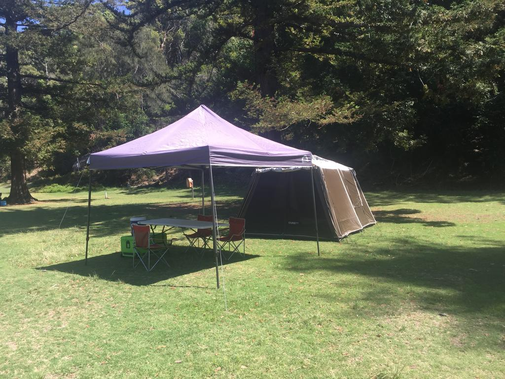 Basin Ku-ring-gai Campsite Set Up - Accommodation QLD